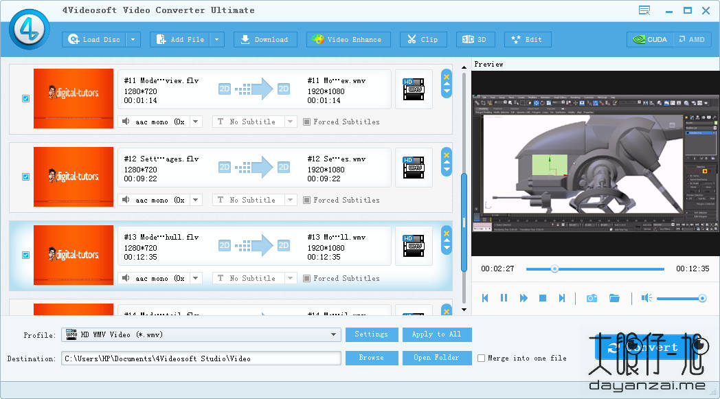 专业视频转换工具 4Videosoft Video Converter Ultimate 中文版