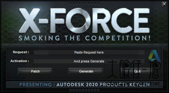 Autodesk Products 2020 KeyGen for X-Force